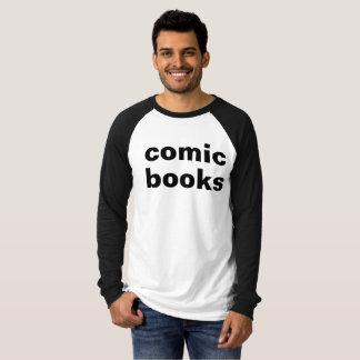 T-shirt les bandes dessinées i les détestent