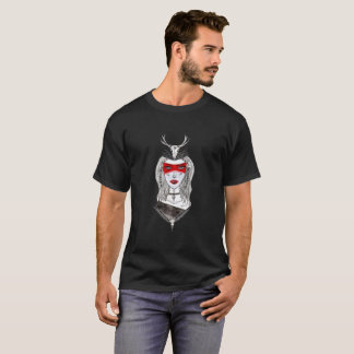 T-shirt Les bleus du chaman
