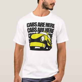 T-shirt Les cabines sont ici