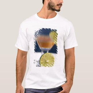 T-shirt Les Caraïbe, Îles Vierges. Poinçon tropical de