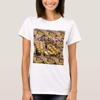 T-shirt Les chefs de riz du poulet n d'alimentation saine
