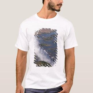 T-shirt Les chutes Victoria, rivière de Zambesi, Zambie -