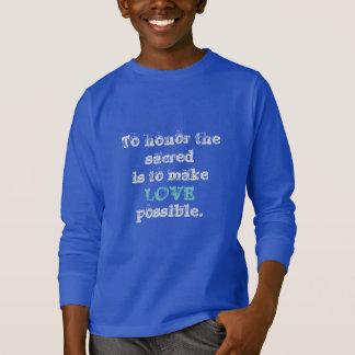 T-shirt Les cinquièmes sacrés rendent l'amour possible