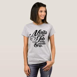 T-shirt Les clous sont ma vie