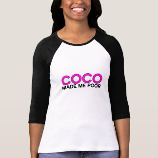 T-shirt Les Cocos m'ont rendu pauvre