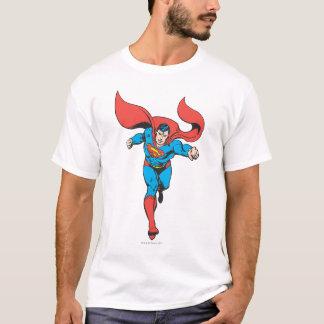 T-shirt Les courses de Superman expédient 2