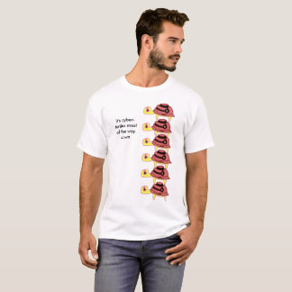 T-shirt Les Cyber-Tortues plus de la manière piquent vers