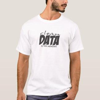 T-shirt Les données propres sont la réponse