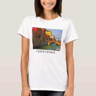 T-shirt Les endroits romantiques à Venise, J'AIME VENISE