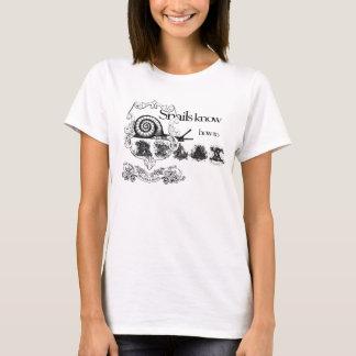 T-shirt les escargots savent détendre