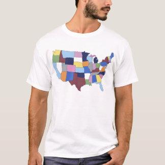 T-shirt LES Etats-Unis