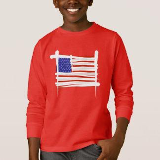 T-shirt Les Etats-Unis balayent le drapeau