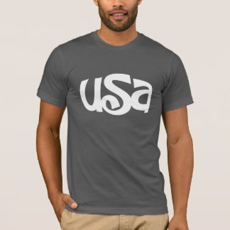 T-shirt Les Etats-Unis conçoivent en fonction du client