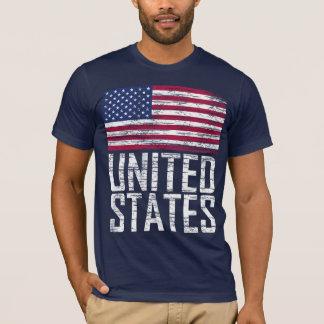 T-shirt Les Etats-Unis - Etats-Unis