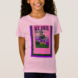 T-Shirt LES ETATS-UNIS HILLARY POUR MOI