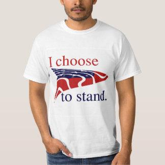 T-shirt Les Etats-Unis me marquent choisissent de se tenir