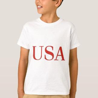 T-shirt Les Etats-Unis - Ressortissant patriote des