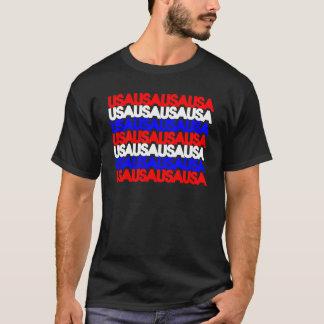 T-shirt Les Etats-Unis sur la répétition