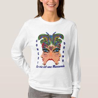 T-shirt Les femmes de carnaval ALLUMENT tous les signes de