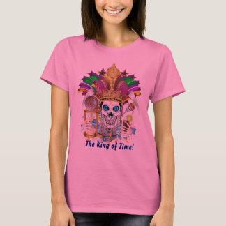 T-shirt Les femmes de mardi gras conjuguent conception que