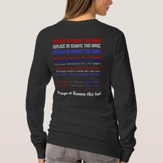 T-shirt Les femmes d'obscurité d'habillement seulement