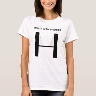 T-shirt Les femmes ne font pas des ponts de Berne
