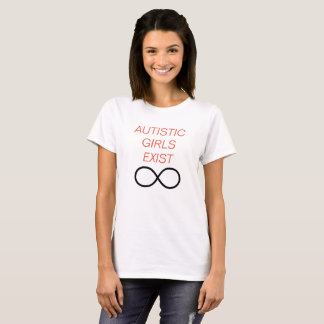 T-shirt Les filles autistes existent