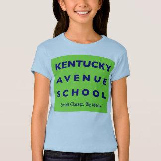 T-shirt Les filles d'école d'avenue du Kentucky ont adapté