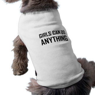 T-shirt Les filles peuvent faire n'importe quoi