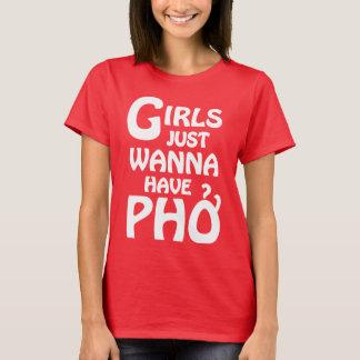 T-shirt Les filles veulent juste avoir Phở
