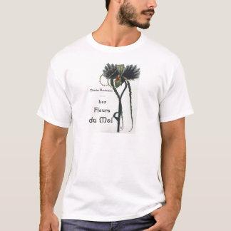 T-shirt Les Fleur du Mal - Baudelaire