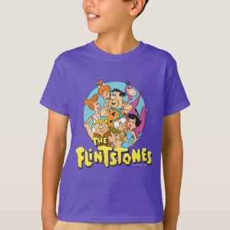 T-shirt Les Flintstones et le graphique de famille de
