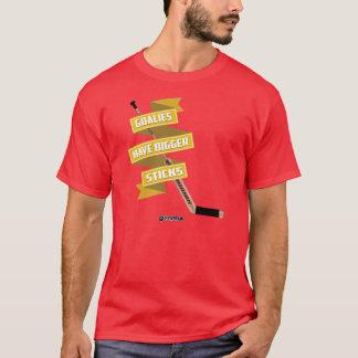 T-shirt Les gardiens de but ont de plus grands bâtons