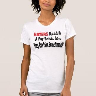 T-shirt Les haineux ont besoin d'une augmentation de