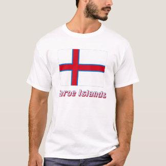 T-shirt Les Iles Féroé diminuent avec le nom