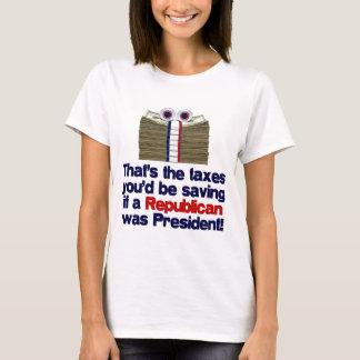 T-shirt Les impôts que vous sauveriez