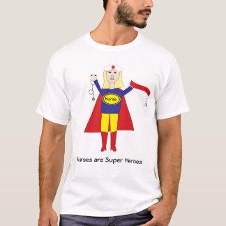 T-shirt Les infirmières sont chemise (blonde) de