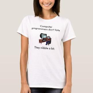 T-shirt Les informaticiens ne font pas octet