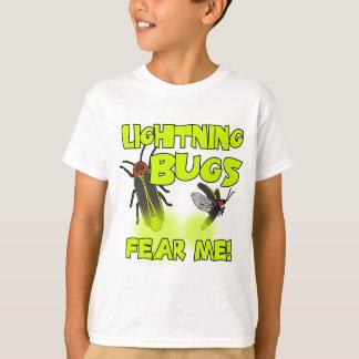 T-shirt Les insectes de foudre me craignent