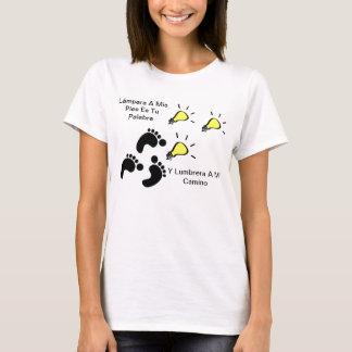 T-shirt Les Lámpara a mis pies lui faire palabra
