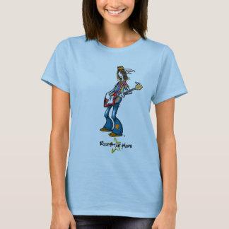 T-shirt Les lièvres 60s adaptés des femmes
