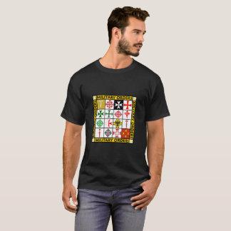 T-shirt Les militaires commandent la chemise