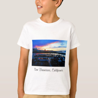 T-shirt Les otaries #4 de la jetée 39 de San Francisco