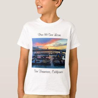 T-shirt Les otaries #8 de la jetée 39 de San Francisco