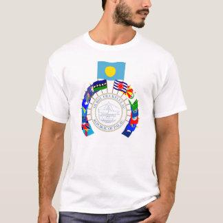 T-shirt Les Palaos marquent le soleil