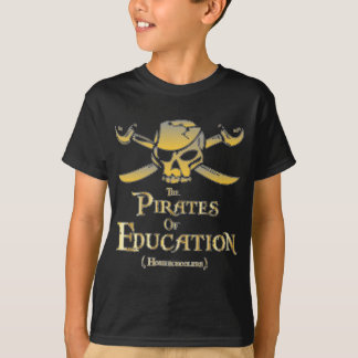 T-shirt Les pirates de l'éducation