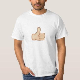 T-shirt Les pouces lèvent le signe Emoji