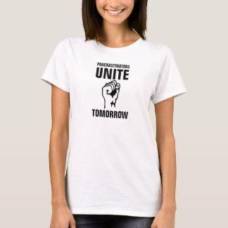 T-shirt Les Procrastinators des femmes unis demain
