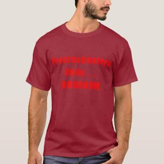 T-shirt Les Procrastinators unissent la chemise foncée