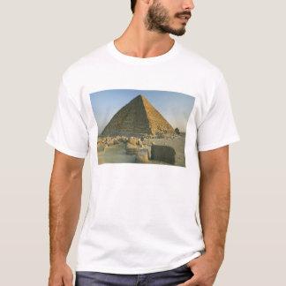 T-shirt Les pyramides de Gizeh, qui sont 5000 2 alomost